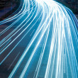 Light trails - Foto Stock