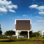 LED billboard — Stock Photo