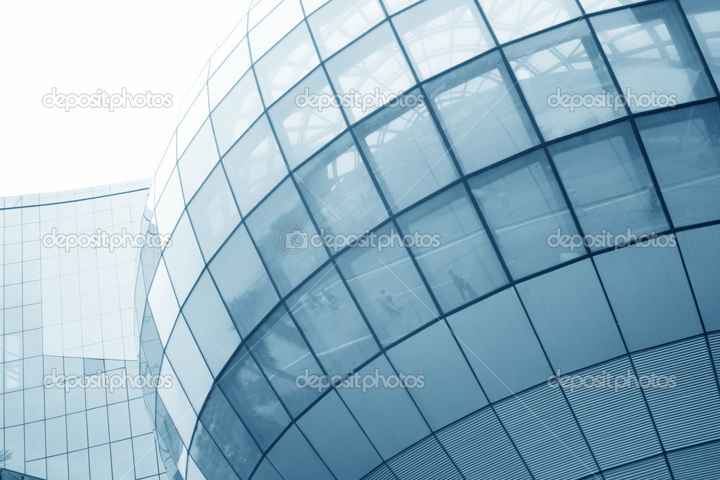 Modern skyscrapers of glass wall — Stock Photo #13268873
