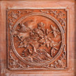 China wood carving - Stock Photo