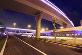 Night view of the bridge — Stock Photo