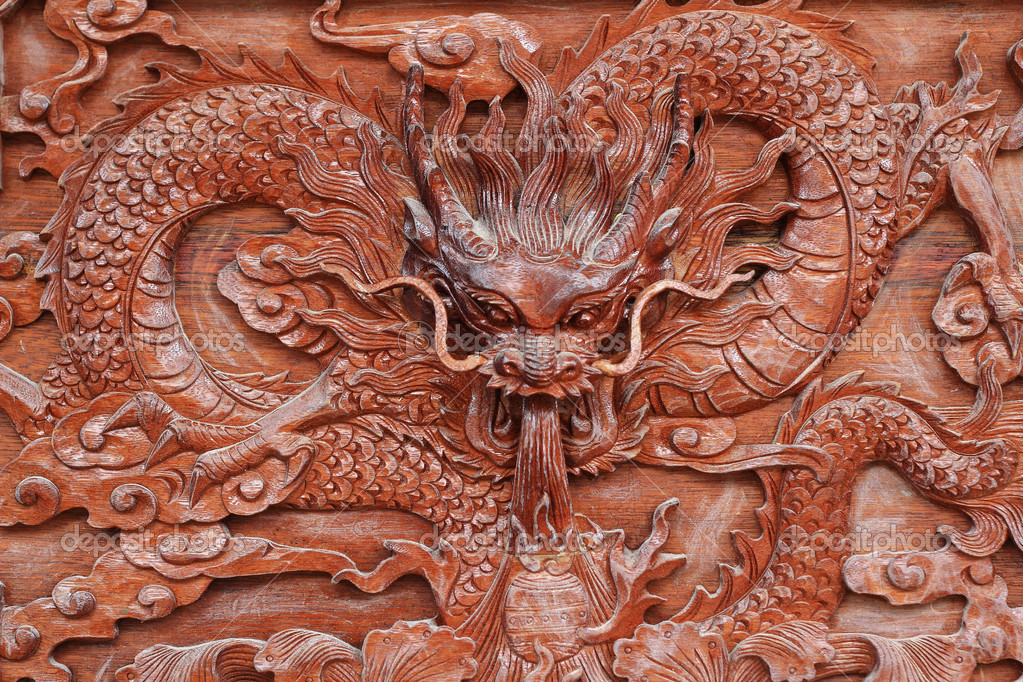 China wood carving stock photo liufuyu 13319091 for Wood in chinese