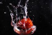 Tomato and cups — ストック写真