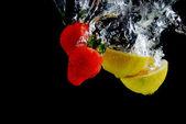 Fragola e limone — Foto Stock