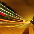 Highway at night - Stockfoto