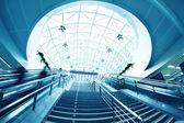 Airport hall — Stock Photo