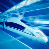 Hochgeschwindigkeitszug — Stockfoto