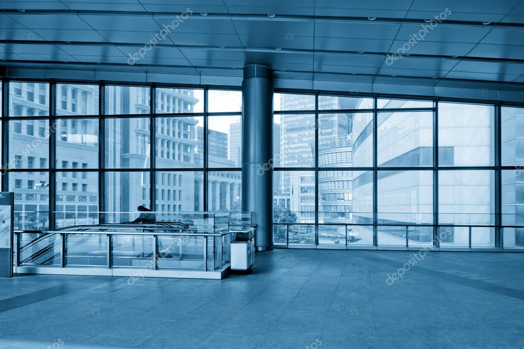 Image of windows in morden office building — Stock Photo #13631833