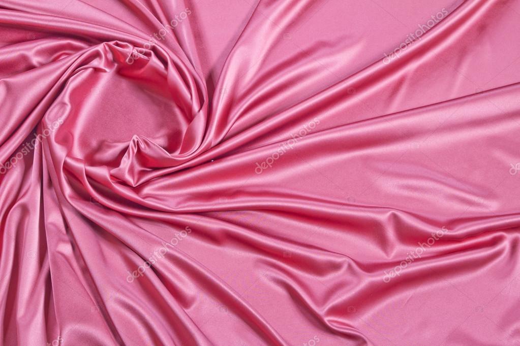 丝绸质感的布料背景的关门