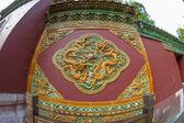 素敵なドラゴン壁 — ストック写真