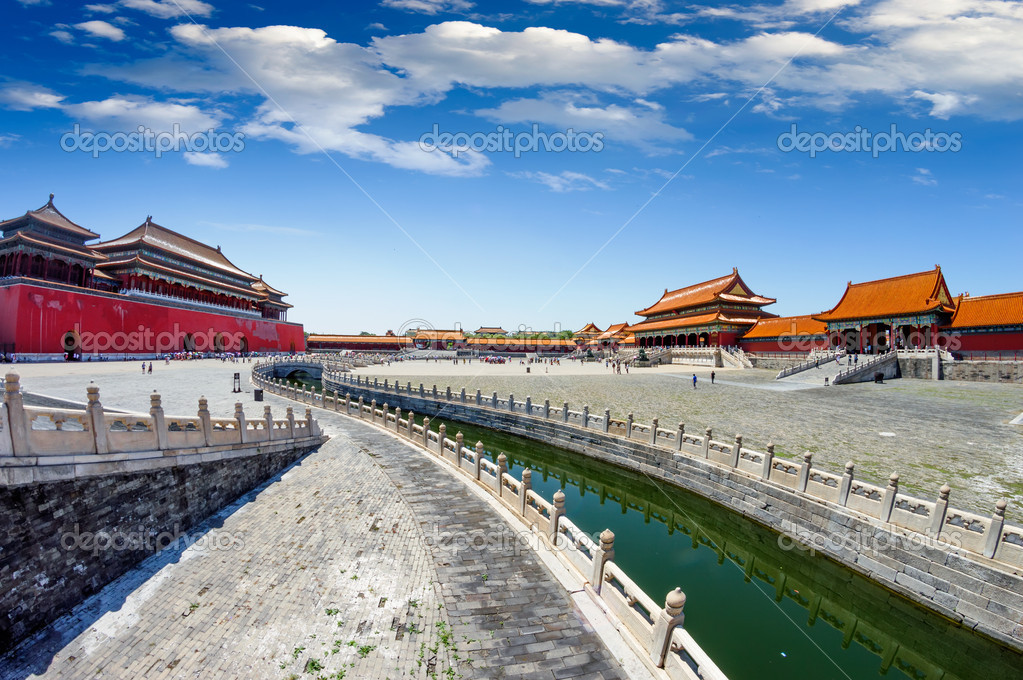 The Forbidden City in beijing — Stock Photo #13871516