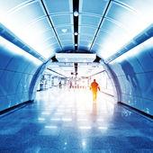 Subway entrance — Stock Photo