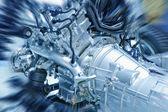 Motore — Foto Stock