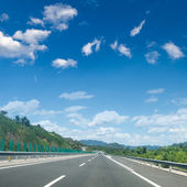 Expressway and the sky — Stock Photo
