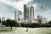 飛行凧 — ストック写真
