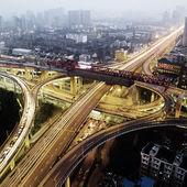 Snodo stradale — Foto Stock