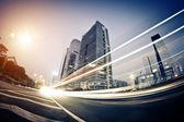 Szybkiego ruchu samochodów — Zdjęcie stockowe