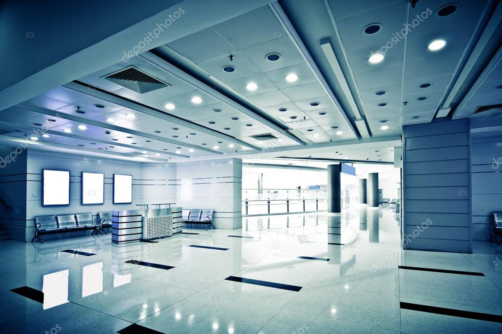 The modern office interior corridor — Stock Photo #17169773