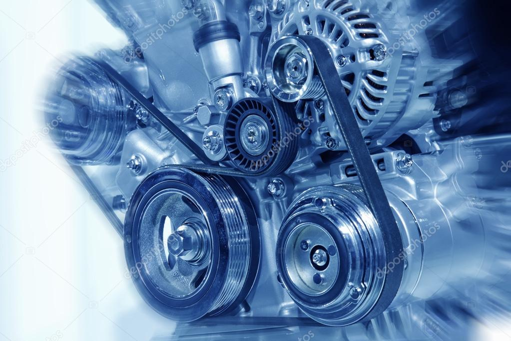 Part of car engine — Stock Photo #17190589