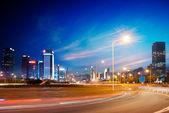 Noche de la ciudad — Foto de Stock