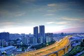 Fly-over brug — Stockfoto