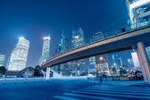 Beautiful of shanghai night scene — Stock Photo