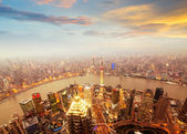 Shanghai Skyscraper — Stock Photo