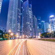 Stock Photo: megacity highway in china
