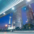 Beautiful of shanghai night scene - Stock Photo
