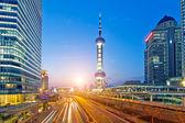 Panorama of Shanghai — 图库照片