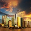 Panorama of Shanghai — Stock Photo