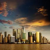 Panorama of Shanghai — Stock Photo