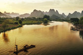Yangshuo y guilin en china — Foto de Stock