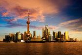 Panorama över shanghai — Stockfoto
