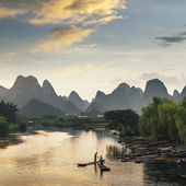 Yangshuo and guilin in china — Stock Photo