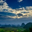 Rural scenery in Guilin - Stock Photo
