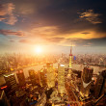Shanghai lujiazui — Stock Photo #18463615
