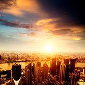 Shanghai lujiazui — Stockfoto