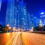 Megacity Highway in China — Stock Photo