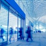 Passengers motion blur — Stock Photo #18496167
