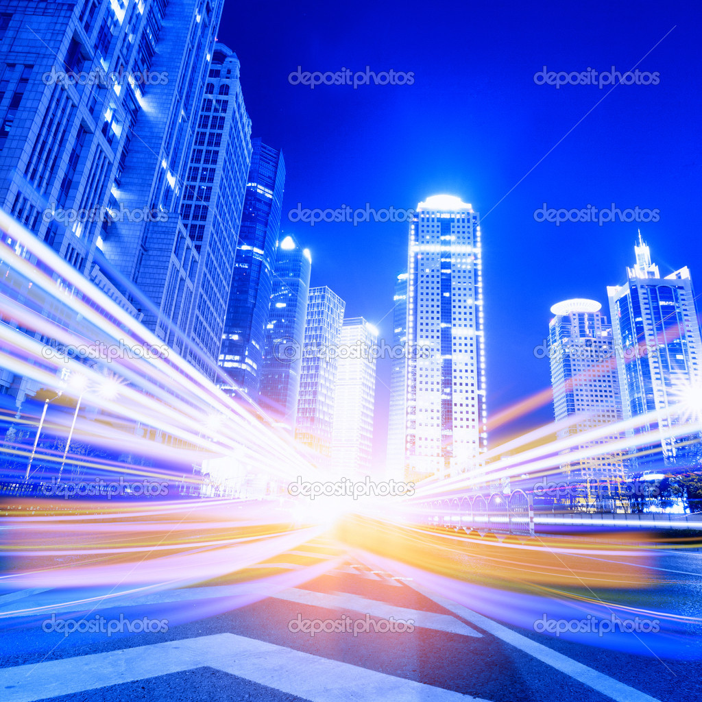 Megacity Highway in China — Stock Photo #18490573