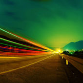 Highway bij nigh — Stockfoto