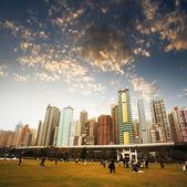 Parque da cidade — Fotografia Stock