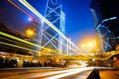 Hong kong'da trafik — Stok fotoğraf