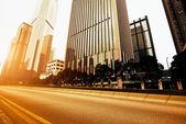 Carreteras y ciudades — Foto de Stock