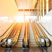 Escalators — Stockfoto