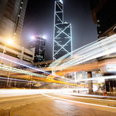 Traffic in Hong Kong — Stok fotoğraf