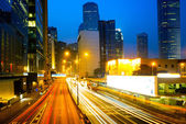 Traffic in Hong Kong — Stockfoto
