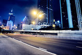 Traffic in Hong Kong — Foto Stock