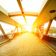 Footbridge — Stock Photo